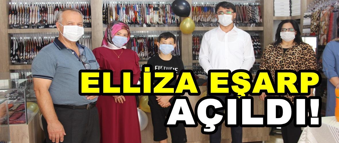 Afşin'de Elliza Eşarp açıldı!