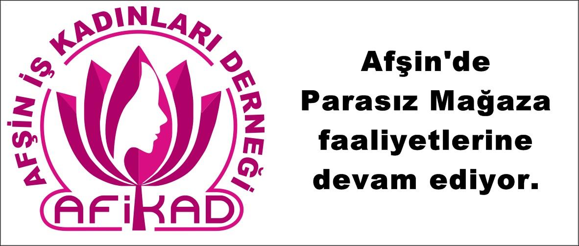Afşin'de Parasız Mağaza faaliyetlerine devam ediyor.