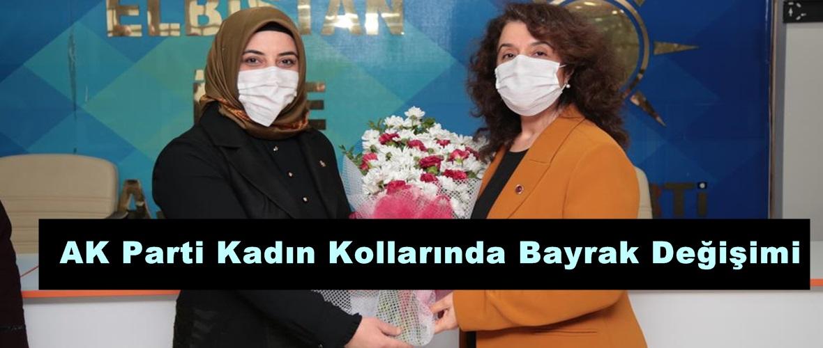 AK Parti Kadın Kollarında Bayrak Değişimi!
