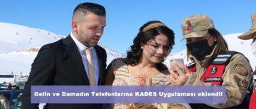 Gelin ve Damadın Telefonlarına KADES Uygulaması eklendi!