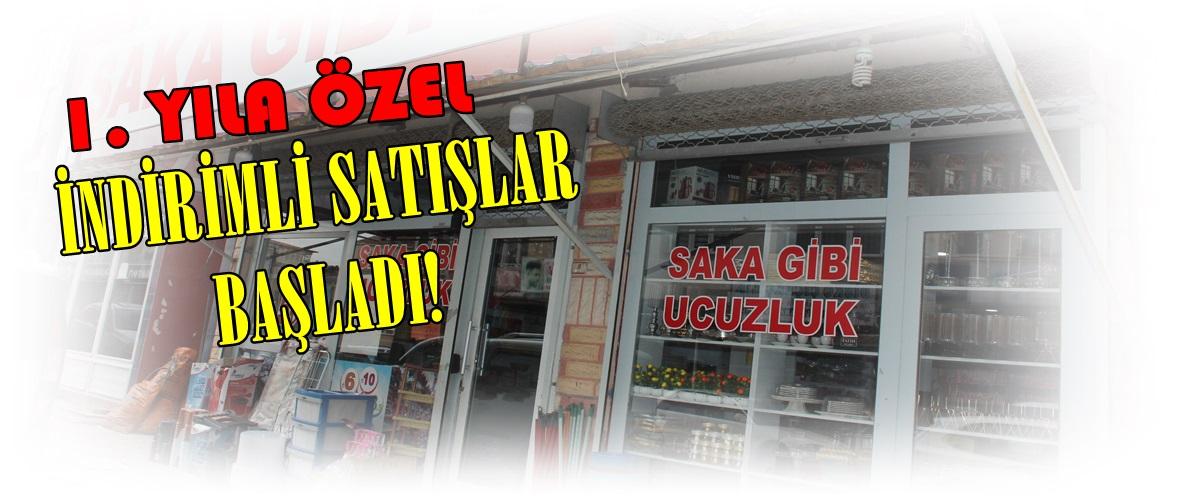 Afşin'de Bu Mağazada 1. Yıl özel indirimleri başladı!