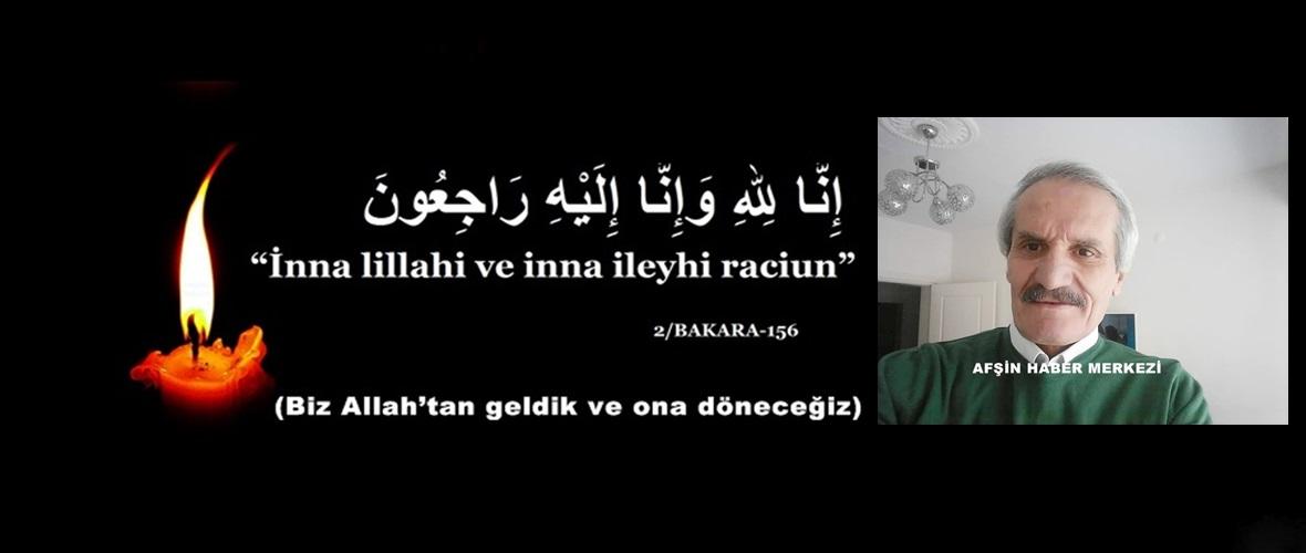 Mehmet Köş vefat etti.